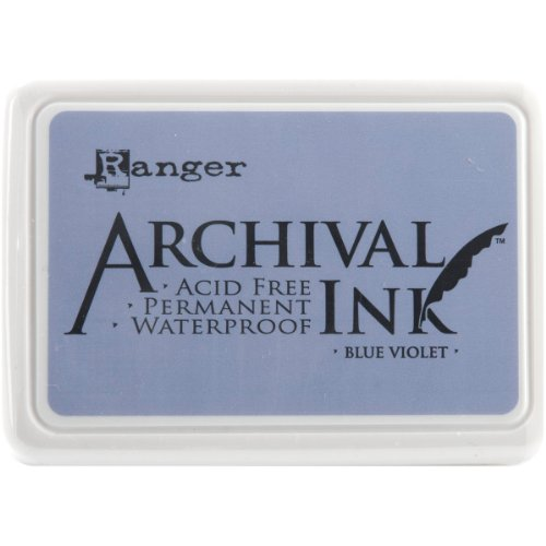 (Ranger AIP-30584 Archival Inkpad, Blue Violet)