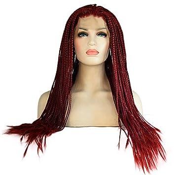 Femme synthétique Lace Front Perruque longue