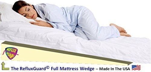 Bed Wedge for Acid Reflux Full Mattress Wedge Incline Elevator (Gerd) Treatment (California King 72