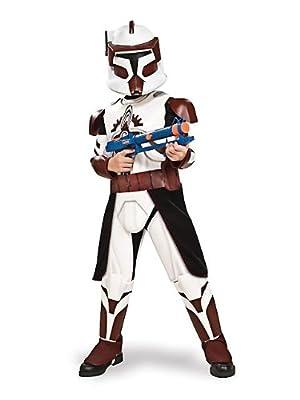Disney Star Wars The Clone Wars: Deluxe Commander Fox Child Costume
