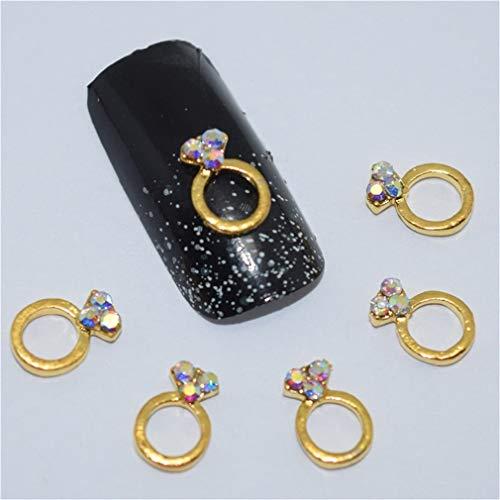 10Psc New Cherry Red 3D Nail Art Decorations,Alloy Nail Charms,Nails Rhinestones Nail Supplies 05 ()