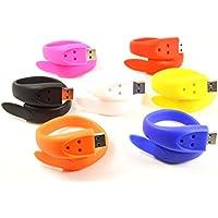 FEBNISCTE 7 Pcs 4GB Wristband Flash Memory USB2.0 Pendrive Memory Stick