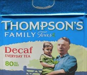 Punjana Decaf Tea - By Thompson's Family Teas (80 Tea Bag...