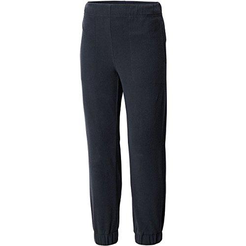 Columbia Big Boys' Glacial Fleece Banded Bottom Pant, Black, S