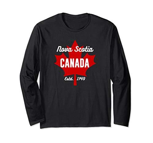 Nova Scotia Canada Shirt Eh Maple Leaf Canadian Flag ()