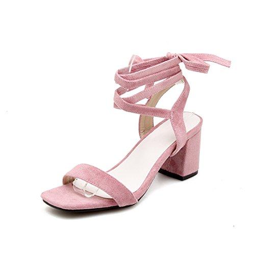 tacchi rosa alti sandali 43 sandali signore sandali i dei e i sandali alla sandali cave cave moda i WxFaqvxR1w