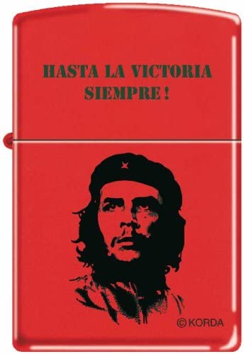 Zippo Che Guevara - Mechero original de la Victoria Siempre! - Red Mate.: Amazon.es: Jardín