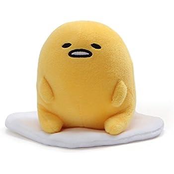 Amazon.com: Gund Sanrio Gudetama the Lazy Egg on Toast Plush ...