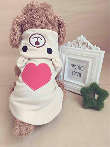 Margo Cute Dog Clothes for Size M Dog
