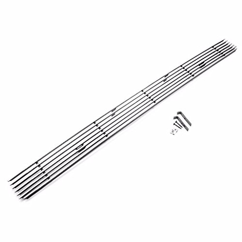 erushautoparts Chrome Billet Grille Set for 2005-2011 Toyota Tacoma Lower Bumper Grille Chrome with Bracket - Billet Toyota Tacoma Grille Bumper