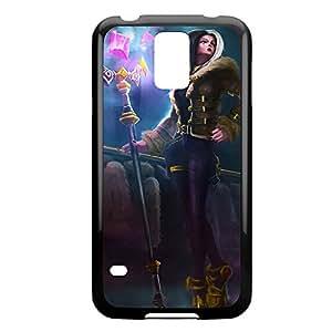 Leblanc-003 League of Legends LoL case cover Iphone 4/4S - Plastic Black