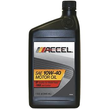 Accel 60318 sae 20 non detergent motor oil 1 for Sae 20 motor oil