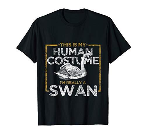 Human Costume Swan T-Shirt -