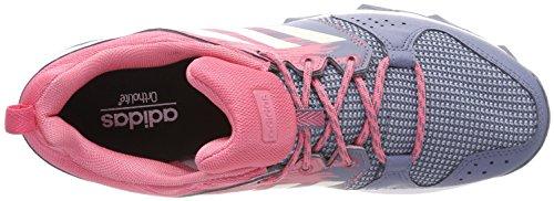 Scarpe Da Corsa Adidas Da Donna Galaxy Trail Multicolore (acciaio Grezzo S18 / Gesso Bianco / Rosa Reale S18)