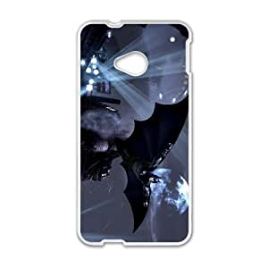 Batman HTC One M7 Cell Phone Case White F9817993