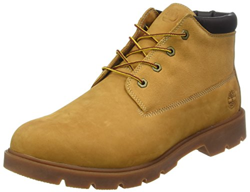 Timberland 6 in Basic, Stivali Chukka Uomo Beige (Wheat Nubuck With Suede 231)