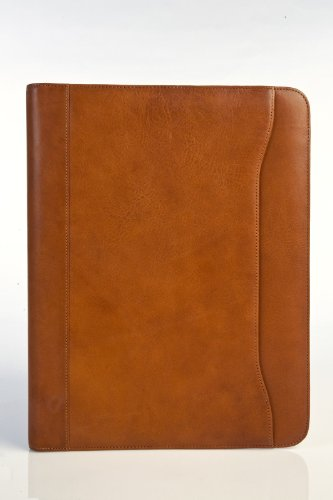 "Tony Perotti Unisex Italian Cow Leather 8.5x11"" Notepad Busi"