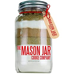 The Mason Jar Cookie Company Brownie Mix, Turtle, 26.46 Ounce