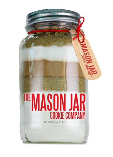 - The Mason Jar Cookie Company Brownie Mix, Turtle, 26.46 Ounce