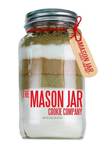 The Mason Jar Cookie Company Brownie Mix, Turtle, 26.46 Ounce (Turtle Cookie Jar)