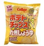 ポテトチップス九州しょうゆ味 58g