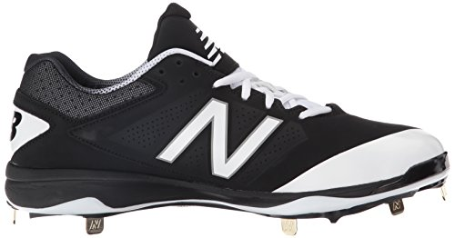 Balance New Black Cleat White Baseball Shoe Men's L4040V3 drxYrw
