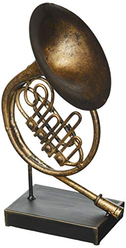 (Deco 79 Metal French Horn W-13020, 11
