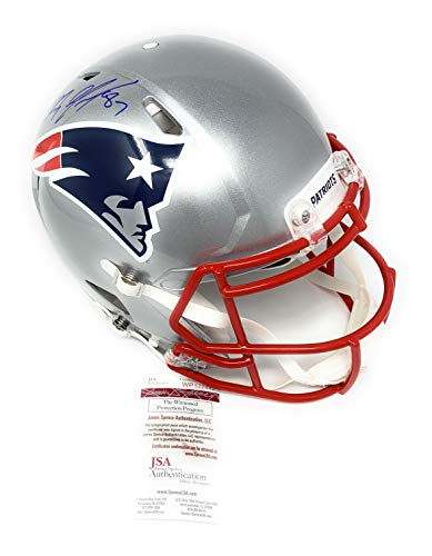 2f428891 Rob Gronkowski New England Patirots Signed Autograph Speed Proline On Field  Authentic Full Size Helmet JSA Witnessed Certified