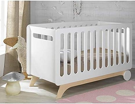 Alfred & Compagnie - Cuna evolutiva para bebé (70 x 140 cm ...