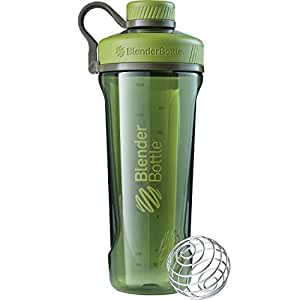 Blender Bottle ProStak Full Colour Shaker Bottle, Black, 650 ml Capacity