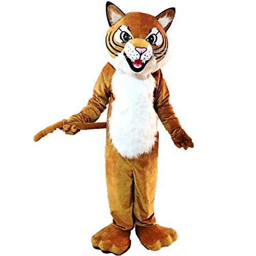 Tiger Wild Cat Mascot Costume Character (Special Size Custom) ()