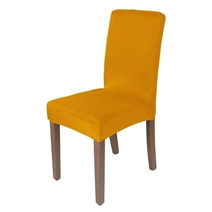 Amazon.com: Hakazhi Inc Solid Color Stretch Chair Cover ...