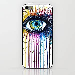 LCJ Paint Eyes Pattern hard Case for iPhone 6