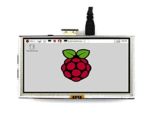 LANDZO 3.5 Inch Touch Screen 320480 for Raspberry Pi 3 Model B and Pi 2 Pi Zero Pi 1 with Touch Pen … (5 inch)