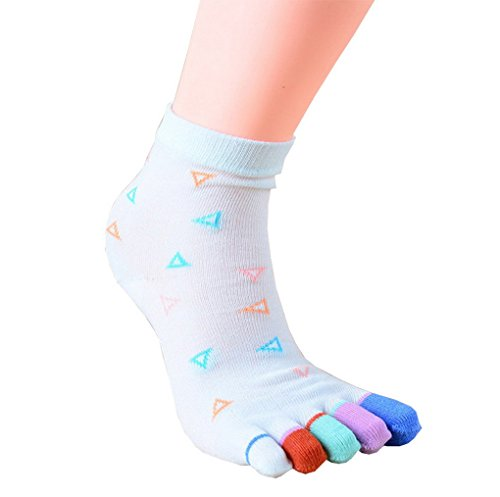 algod Toes Five Masaje Acme Yoga Dance Gym Pilates Socks de fzx5wdgq5