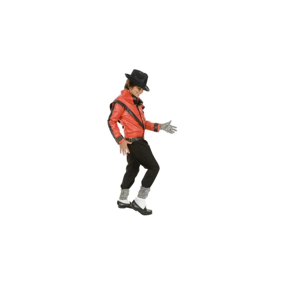 Kids Michael Jackson Thriller Jacket Halloween Costume (Sz Medium 7 10