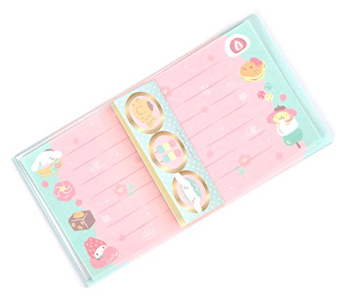 - Sanrio characters Letter Set: Wagashi