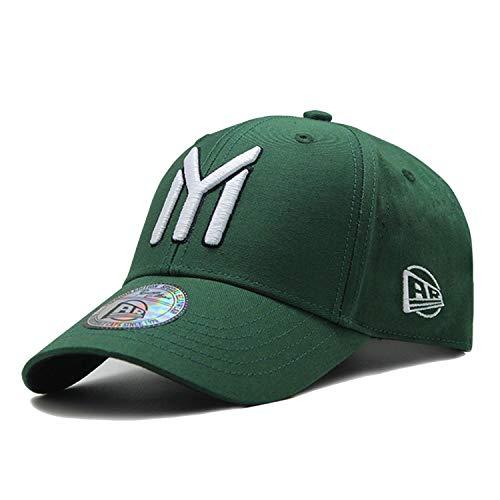 Bokun Baseball Cap for Men Women Youth Snapback Hip Hop Hat Caps Bone Baseball Army Green