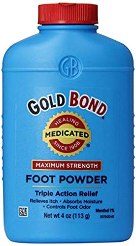 Gold Bond Medicated Foot Powder, 4 ()