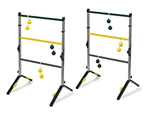 Amazon Com Go Gater Gold Steel Ladderball Set Sports