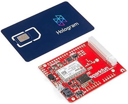 Electronics123 SparkFun LTE CAT M1//NB-IoT Shield with Hologram SIM Card SARA-R4