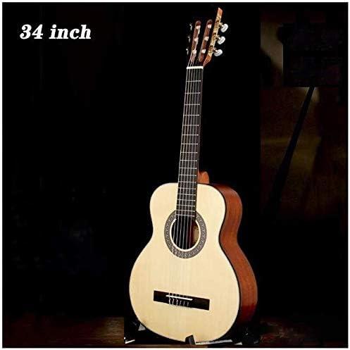Guitarra folk pop Guitarra acústica Guitarra Clásica 1/2 tamaño 34 ...