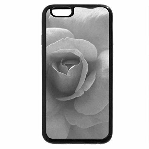 iPhone 6S Case, iPhone 6 Case (Black & White) - ROSE