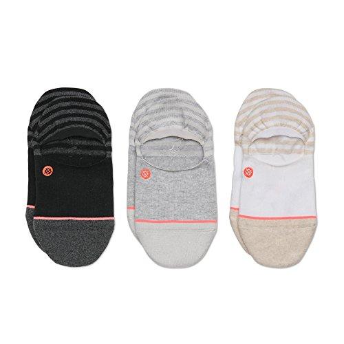 Stance Women's Uncommon Invisible Liner Socks (1 & 3 Packs), Multi, Medium