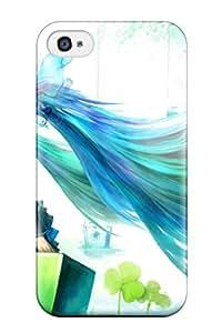 Best vocaloid stockings hatsune Anime Pop Culture Hard Plastic iPhone 4/4s cases