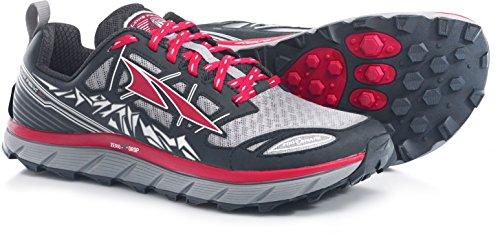 Altra Men's Lone Peak 3 Running Shoe - Black/Red - 9 D(M) US