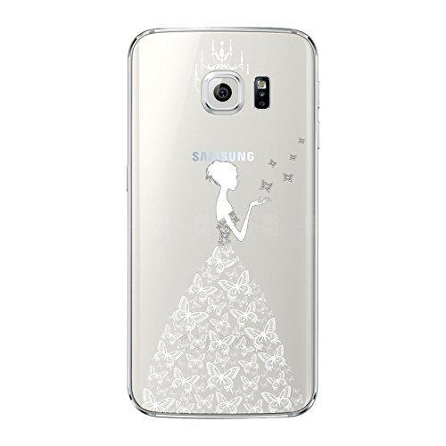 2 opinioni per NOVAGO Custodia del gel di silicone trasparente per Samsung Galaxy S6 ( Vestito