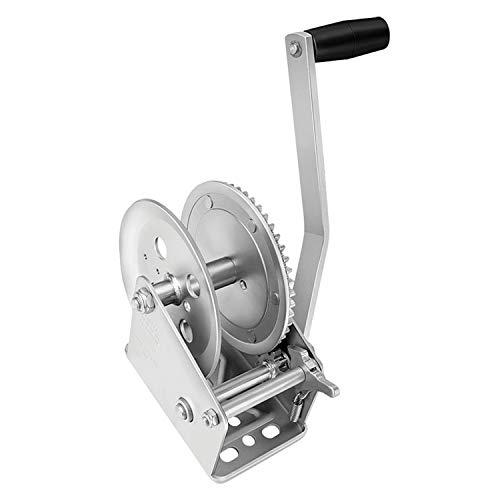 Fulton 142300 Single Speed Winch-1800 lbs. Capacity (Handle Winch Grip Speed)