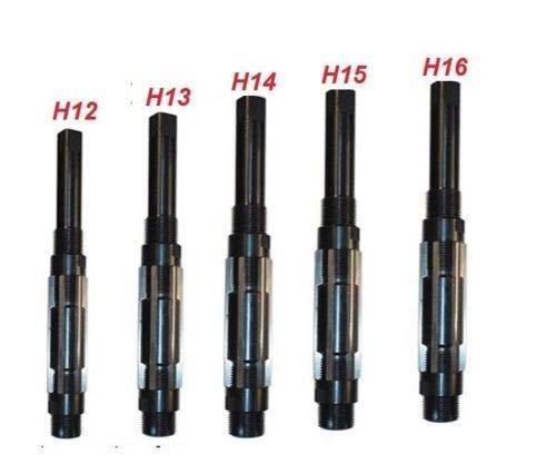 5 PC Adjustable Hand Reamer Set I - M (H12 to H16) 1-1/16