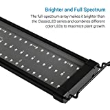 NICREW ClassicLED Plus Planted Aquarium Light, Full Spectrum LED Fish Tank Light for Freshwater Plants, 18 to 24 Inch, 15 Watts
